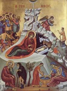 Icone de la Nativité