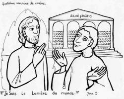 jésus et l'Aveugle de naissance